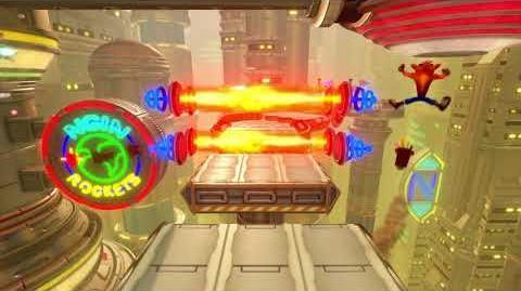 Crash Bandicoot N Sane Trilogy - Future Tense (DLC Level) - Both Gems