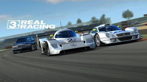 Real racing 3 RR3 The New Update Mercedes