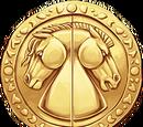 Kaksipuolinen medaljonki