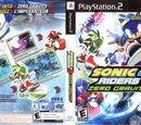 Sonic Riders: Zero Gravity box artwork