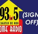 DXQR-FM 93.5 MHz Sign On and Sign Off