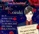 Taki Kozaki/Character