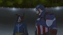 Captain America Faces Doctor Strange AUR.png