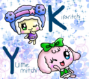Kiraritchi and Toddler Yumemitchi by floralovescats