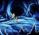 Jaskinie na wyspie Ellefa Rignesa