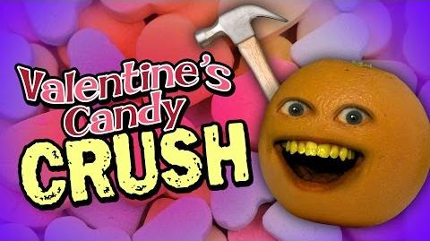 Annoying Orange: Valentine's Candy Crush