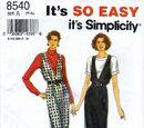 Simplicity 8540 A