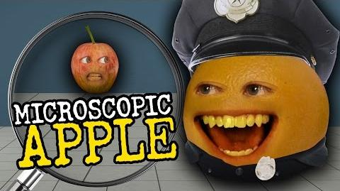 Annoying Orange - Microscopic Apple (feat. Greg Benson, Joe Nation & Jess Lizama)