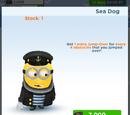Sea Dog Minion Costume