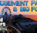 AMUSEMENT PARK AND BIG FOOT