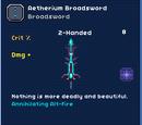 Aetherium Broadsword