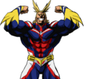 All Might (Canon)/Zenkaibattery1