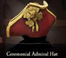 Ceremonial Admiral Hat
