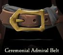 Ceremonial Admiral Belt
