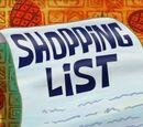 Lista sprawunków