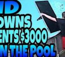 KID DROWNS PARENTS $3,000 TV IN POOL OVER FORTNITE!!!