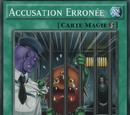 Accusation Erronée
