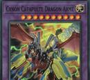 Canon Catapulte Dragon Armé