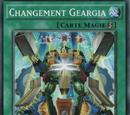 Changement Geargia