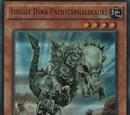 Fossile Dyna Pachycéphalosaure