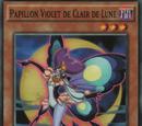 Papillon Violet de Clair de Lune