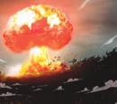 Emperoer/Mortal Kombat X: Kintaro tanks an explosion