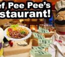 Chef Pee Pee's Restaurant!