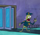 Security Guard (Krusty Kleaners)