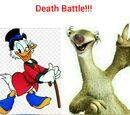 Scrooge Mcduck vs Sid the sloth