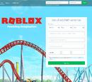 Регистрация в Roblox
