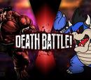 Red Hulk vs Dark Bowser