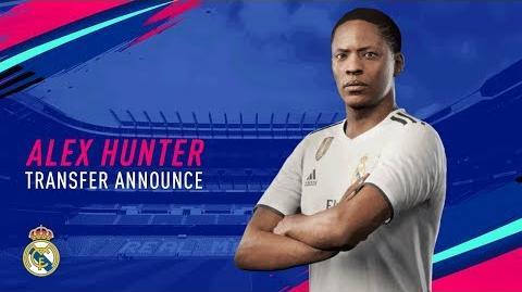 Clear Arrow/Alex Hunter, protagonista de El Camino de FIFA 19, ficha por el Real Madrid
