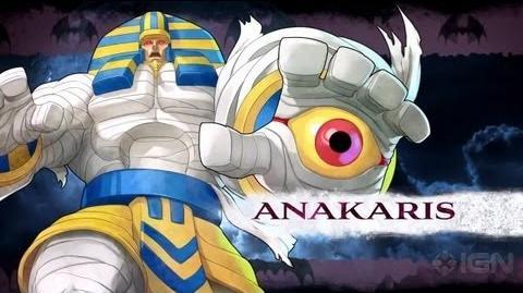 Anakaris/Lista de movimientos