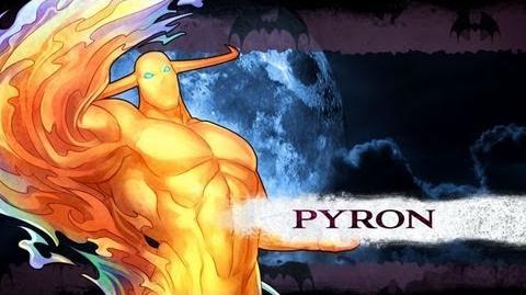 Pyron/Lista de movimientos