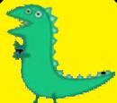 Green dinosaur academy