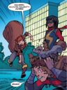 Squirrel Scouts (Earth-616) attacking Dante Pertuz (Earth-616) from Marvel Rising Squirrel Girl Ms. Marvel Vol 1 1.jpg