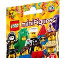 71021 Minifigures Série 18 : La fête