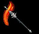 Fire Crystal Scythe (Gear)