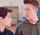 Cyrus and TJ