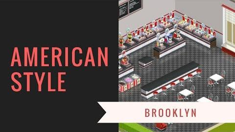 Deco-video American Brooklyn substyle