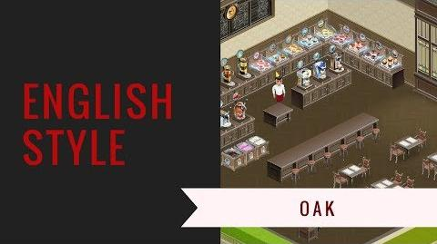 Deco-video English Oak substyle