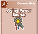 Aging Power Source