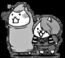 Kitaro Cat & Mouse Cat (PC Uber Rare Cat)