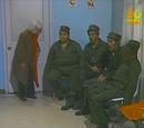 O exame dos soldados/Invadindo a casa/O elevador/O bilhete de loteria/Aula sobre história