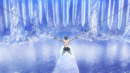 Eren is chained in the Underground Chapel.png