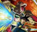 Beating Intensity of a Saiyan Bardock (Giant Ape)