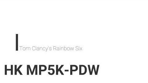 MP5K/R6
