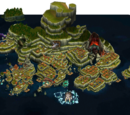 Island Grids With Optimal Building Placement