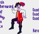 Captain Feathersword fell Asleep On His Pirate Ship (Quack Quack) (Karaoke)