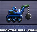 Wrecking Ball Crane